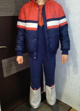 """Костюм лыжный """"klepper"""" комбинезон (куртка и брюки) разм.m (р...."""