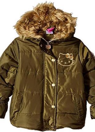 Зимняя куртка hello kitty. оригинал. сша.
