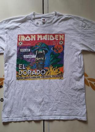Iron maiden футболка размер м