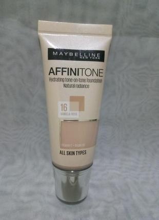 Maybelline affinitone тональный крем,оттенки в наличии