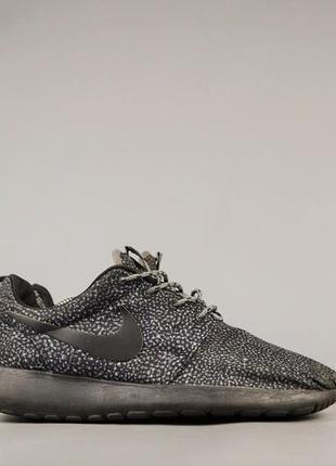 Мужские кроссовки nike roshe run black safari, р 40