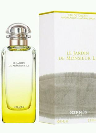 Духи унисекс Hermes Le Jardin De Monsieur Li 100ml EDР