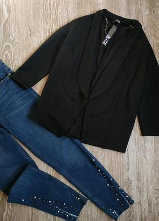 Базовый блейзер, пиджак с укороченными рукавами george р16