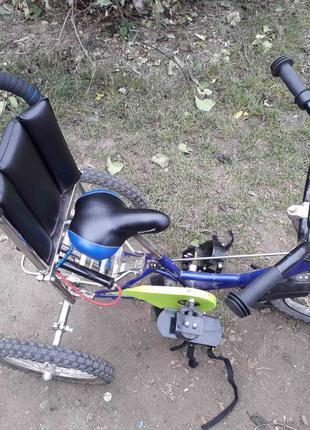 Велотренажер для детей с ДЦП.