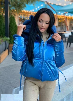 Стильная женская куртка зима‼️ качество - бомба💣