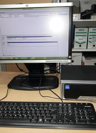 Комплект intel Core i3-4130 (системник, монитор, мышка, клавиатур