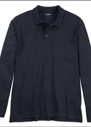 Реглан поло лонгслив футболка с длинным рукавом livergy