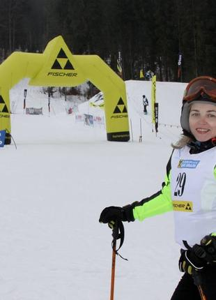 Занятия по горным лыжам