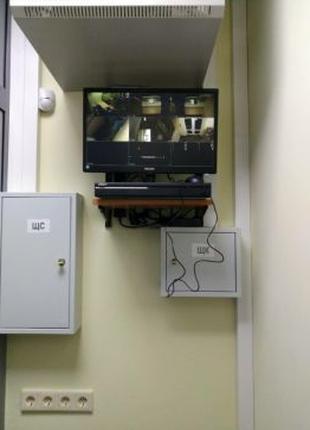 Охранная сигнализация, видеонаблюдение, установка видеодомофонов.