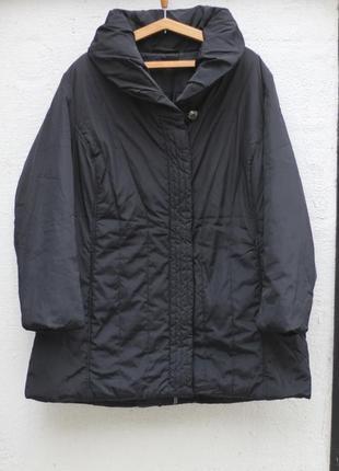 Удлиненная куртка на синтепоне gina laura