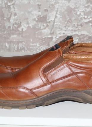 Комфортные кожаные туфли josef seibel 45-46