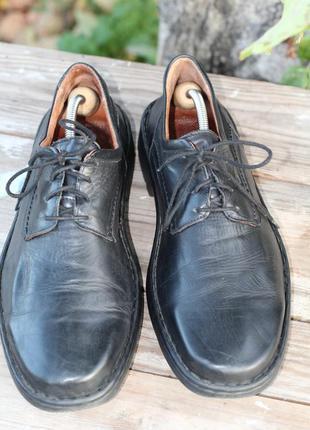 Легкие кожаные туфли josef seibel 46-47