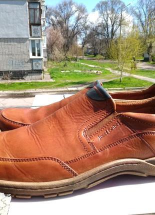 Легкие, комфортные туфли из натуральной кожи  josef seibel 45-46