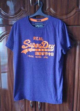 Футболка superdry japan vintage супердрай