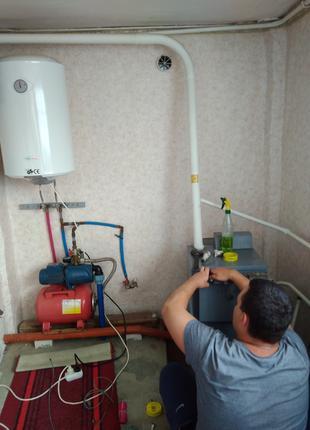 Ремонт газовых котлов, конвекторов, плит. Вызов газовщика.