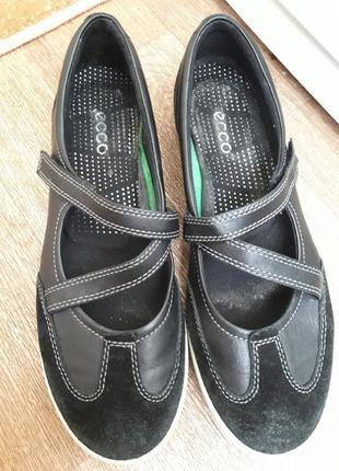 Туфли мокасины ecco 41 размер