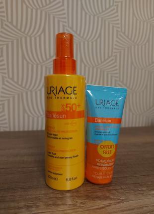 Солнцезащитный спрей для тела и лица uriage spf50