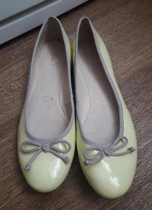 Туфли балетки clarks 41 размер