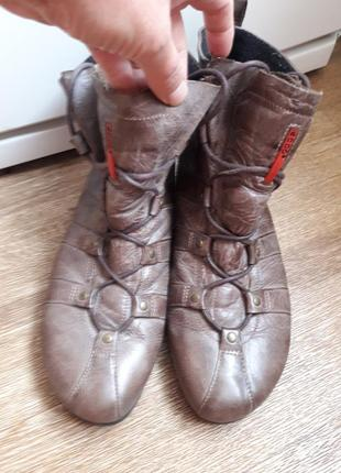 Утеплённые ботиночки ecco 42 размер