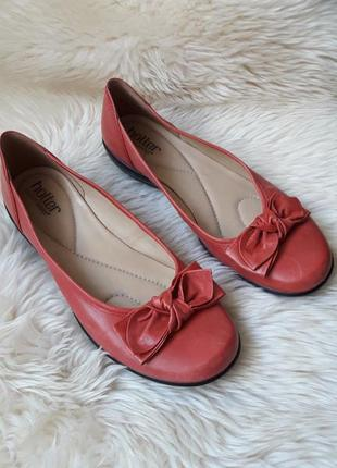 Кожаные туфли hotter 41 размер