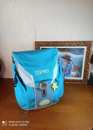 Ранец парашют рюкзак школьный ортопедическая спинка