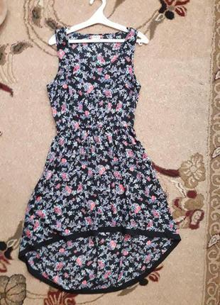 Платье  only в цветочный принт