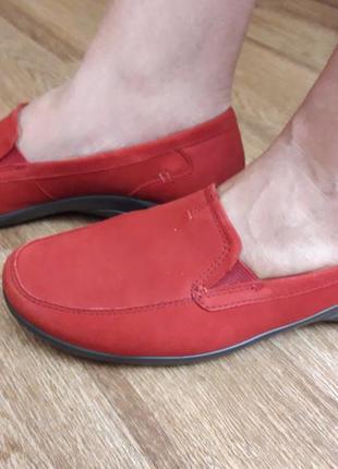 Туфли  hotter англия  39 размер  нубук