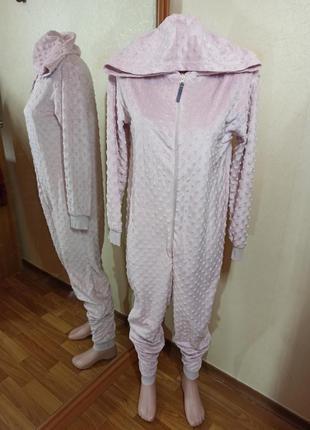 Кенгуруми пижама флис