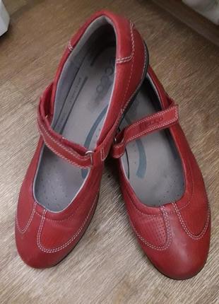 Туфли мокасины ecco 39 размер