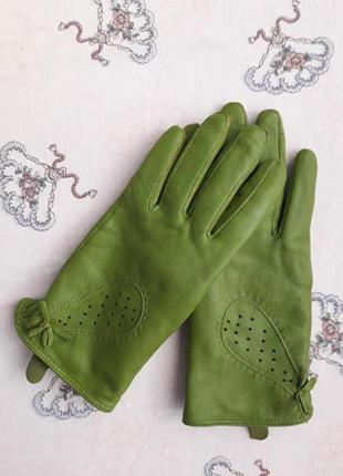 Перчатки кожаные hema