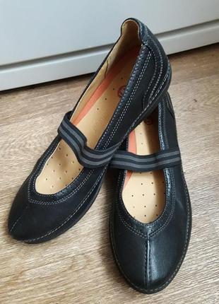 Туфли балетки clarks 38 размер