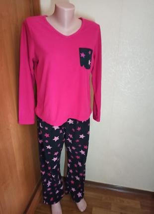 Теплая пижама флис