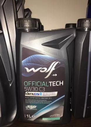 Моторне масло Wolf VitalTech 5W