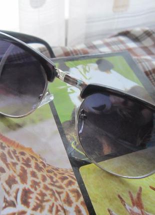Очки со   стеклами градиент