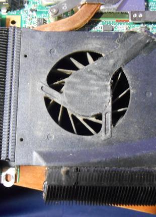 Чистка от пыли с заменой термопасты