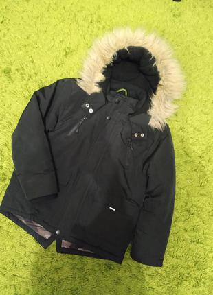 Теплая осенняя куртка для мальчика