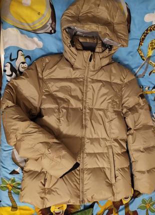 Куртка теплая термо новая идет на м