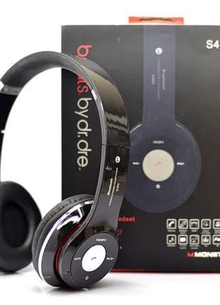 Беспроводные наушники S460 Bluetooth с MP3 плеером FM радио