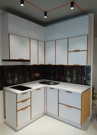 "Кухня ""Оскар"". Со склада Киев. Угловая кухня в стиле Лофт. Нед..."
