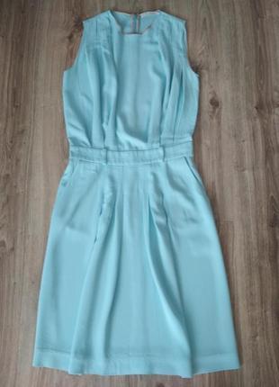 Платье chloe небесно голубого цвета, оригинал