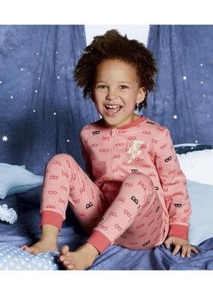 Lupilu® пижама светится в темноте на девочку 12-24 мес., 2-4 г...