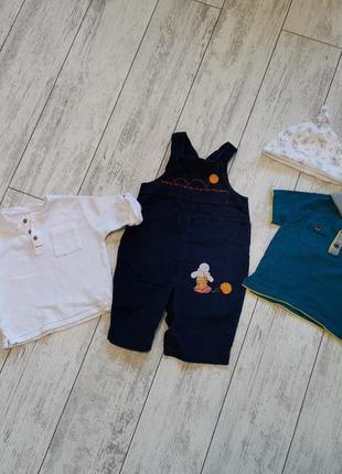 Пакет одежды, набор одежды мальчику на 3-6 месяцев