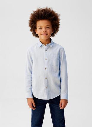 Хлопковая  рубашка ткань пике