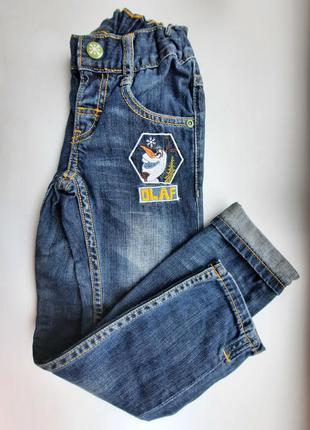 Фирменные узкие джинсы из коллекции disney от c&a