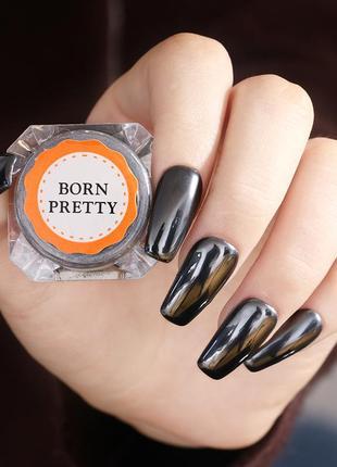 Втирка для ногтей черное золото born pretty 0.5 г probeauty