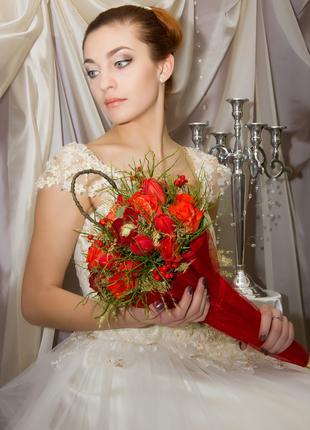 Свадебный букет! Букет для невесты!