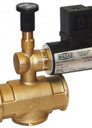 "Клапан электромагнитный газовый Madas M16/RMO N.A- DN 15 1/2""."