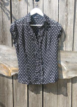 Блуза бантики oodji