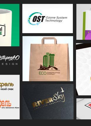 Профессиональная разработка логотипов, фирменных знаков