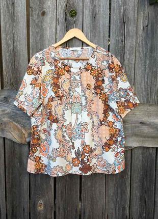 Красивая блузка нарядная футболка m&s